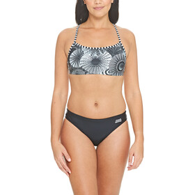 Zoggs Tassles Kaksiosainen Bikini Ristiselkä Naiset, multi/black